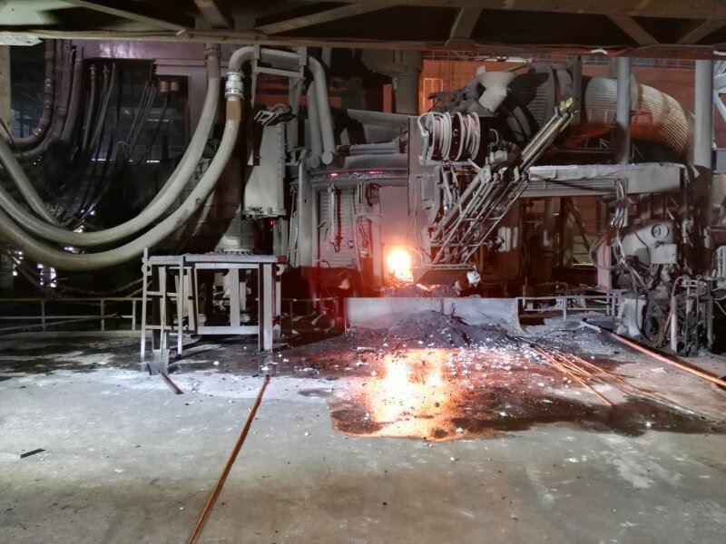 电弧炉废钢预热连续加料装置装车发货