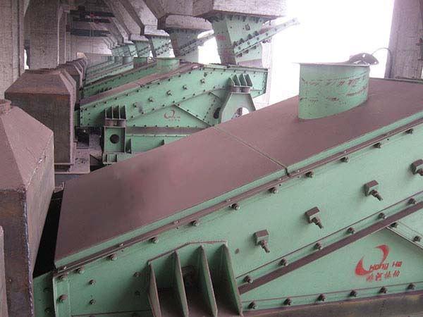 安钢集团2#600立方高炉悬臂筛