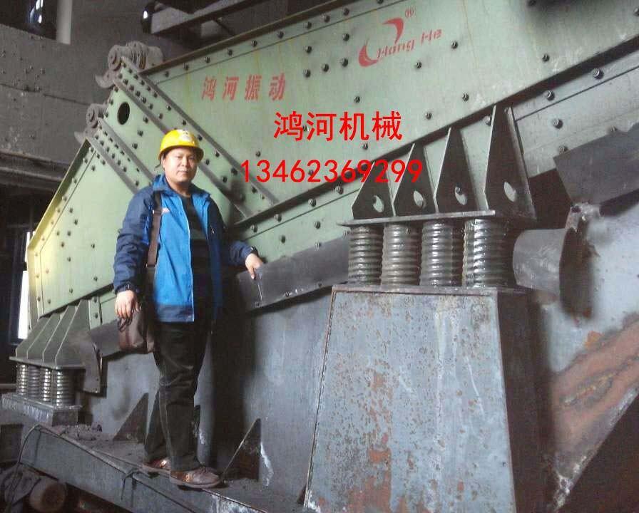 山东宏源焦化厂使用公司生产的2665高幅筛