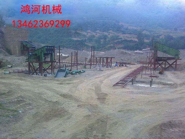 嵩县原湾砂厂使用公司生产的YK圆振筛